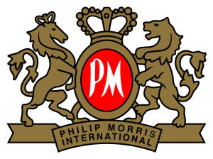 Philip Morris logo 300x224 Big Tobacco Fights Back   Philip Morris to Launch Lower Health Risk Cigarettes by 2017