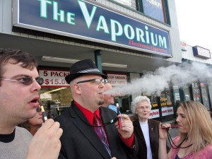 Vapers 300x225  What Are the Side Effects of Switching to Electronic Cigarettes?